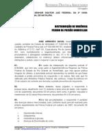 PEDIDO DE PRISÃO DOMICILIAR (ANIZ ABRHÃO)