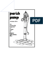 Parish Pump October 2013