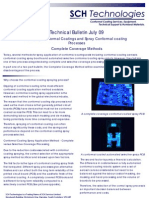 Conformal Coating Spraying Complete Coverage Technical Bulletin July 09