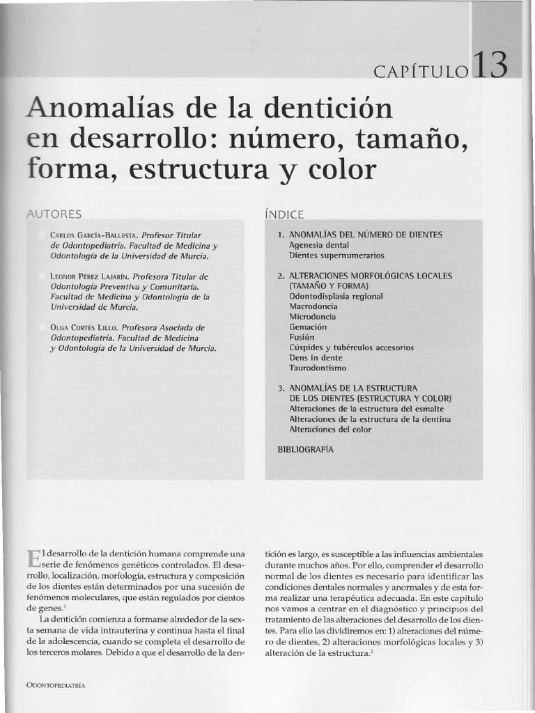 agenesia dental consecuencias estructura corporal