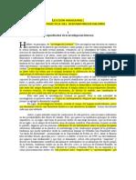 Leccion Inaugural. Objeto y Practica Del Hispano-Medievalismo