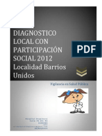 Diagnostico Local 2012 Localidad Barrios Unidos Capitulo 1
