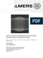 PE Pipes End EF Failures