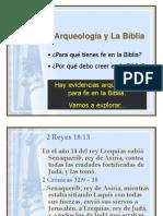 Arqueologia e a Biblia.ppt