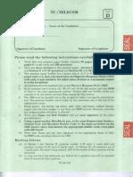 JTO 2009 Question Paper