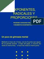 Plataforma Razones y Proporciones