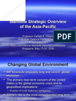 Thayer Maritime Strategic Overview of the Asia-Pacific