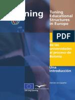 La contribución de las universidades al proceso de Bolonia