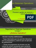 1.1 - Funciones de Un SO