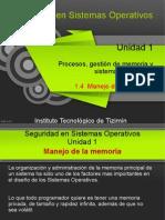 1.4 - Manejo de La Memoria