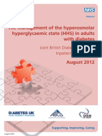 The Management of the Hyperosmolar Hyperglycaemic State HHS in Adults With Diabetes (1)