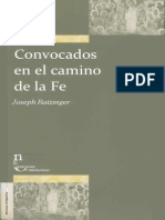 Ratzinger, J. - Convocados en El Camino de La Fe