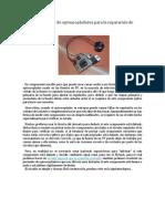 Circuito probador de optoacopladores para la reparación de fuentes de TV