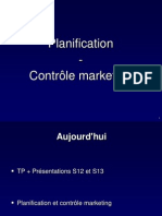 Planification Et Controle Marketing