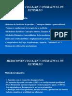 Mediciones Fiscales de Petroleo - Materia