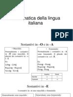 Grammatica Della Lingua Italiana