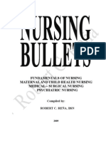 Nursing Review Bullets