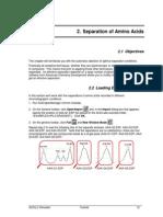 Separtaion of Amino Acids