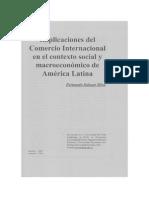 Implicaciones Del Comercio Internacional en El Contexto Social
