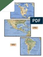 Mapaa de America Norte Centro y Sur