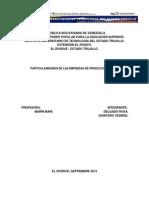 Particularidades de Las Empresas de Produccion Social Analisis