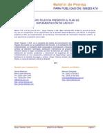 Grupo Televisa Presento El Plan de Implementacion de Las Niif.
