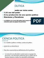 Ciencia Politica 1 Introduccion