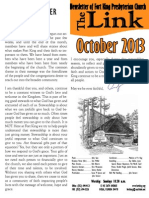 October 2013 LINK Newsletter