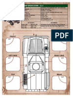 MRAP Vehicle Sheet