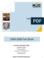 Houston Community College Fact Book 2008-2009
