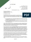 9-28-13 Ltr to Yoho Regarding HR 5 - The Student Success Act