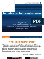 Introduction to Nanophotonics