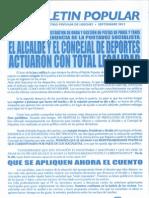 Boletín PP Loeches Septiembre 2013