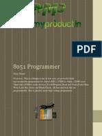 8051 VER 1.0 Programmer