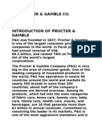 analysis of procter & gamble