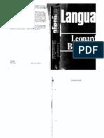 Bloomfield(1973) Language