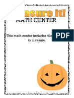 Measure It Mathcenter