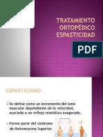 Tratamiento ortopédico Espasticidad