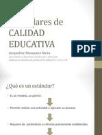Presentacion. Estandares de Calidad Junio 2012