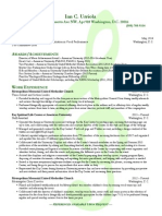 Ian C. Urriola Green Resume