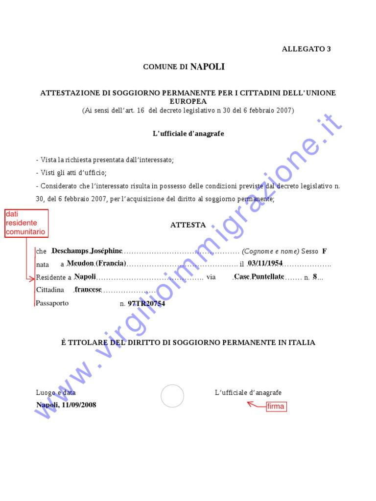guida per il permesso soggiorno: 2013