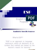 ESP Oral Presentation!