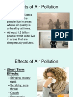Effects of Air Pollution