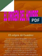 El Origen Del Hombre 21664