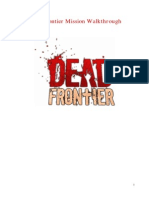 Dead Frontier Online Mission Walkthrough