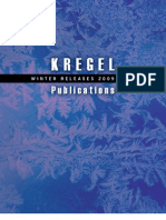 Kregel Winter 09-10 Announcement Catalog