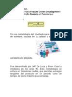 Metodología FDD