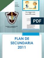 Plan y Prog Secundaria 2011