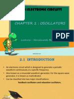 Chapter 2 - Oscillators