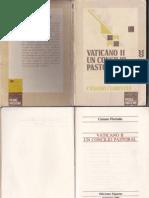 Casiano Floristan, Vaticano II Un Concilio Pastoral